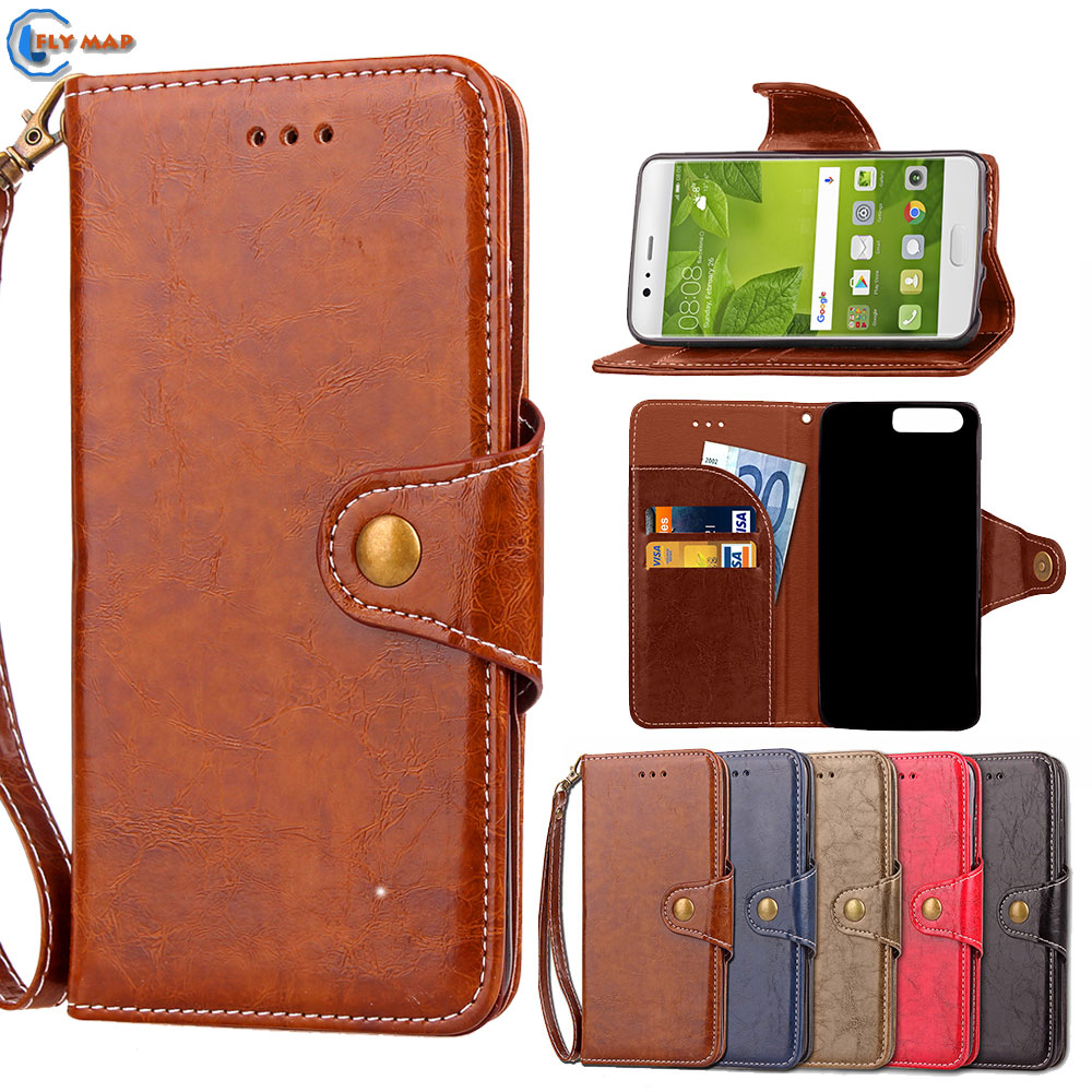 Case For Huawei P10 VTR-AL00 VTR-L29 VTR-L09 Wallet Flip Phone PU Leather Capa Cover For Huawei P 10 VTR AL00 L29 L09 Coque Box ...