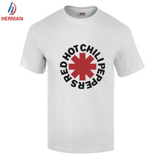 Rock Band Red Hot Chili Peppers T shirt Camisetas Hombre Hot nk Punk Rap Alternative Rock And Roll Red Hot Chili Peppers T shirt