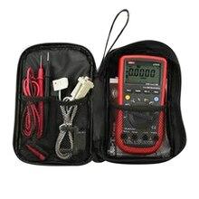 Прочный водонепроницаемый инструмент сумка мультиметр черная Холщовая Сумка для UT61 серии цифровой мультиметр ткань 20*12*4 см