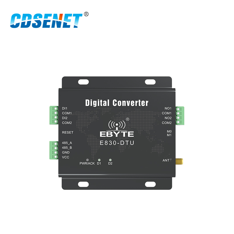 Image 2 - Switch Value Acquisition Wireless Transceiver 433MHz Modbus E830 DTU(2R2 433L) 8km Long Range Transmitter and Receiver-in Fixed Wireless Terminals from Cellphones & Telecommunications