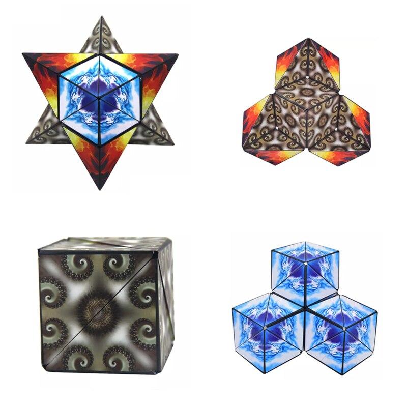 Cubos Mágicos velocidade quadrado etiqueta cubos educacionais Tipo : Cubo de Quebra-cabeça