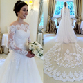 Don's Bridal Lace Wedding Dresses Organza And Tulle Sleeveless Simple A Line Cheap Bride Gown 2016 Casamento