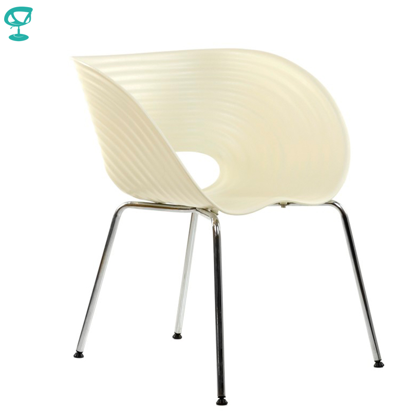 95218 Barneo N-224 Plastic Kitchen Breakfast Interior Stool Bar Chair Kitchen Furniture White Free Shipping In Russia