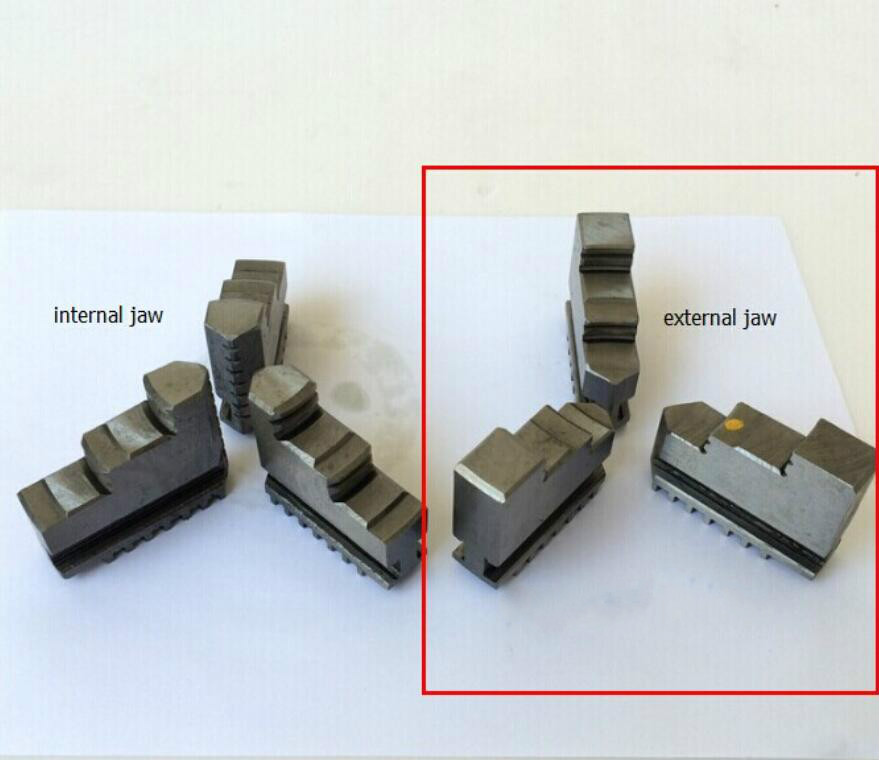 Three Jaws External Jaw Chuck Accessories For K11 125