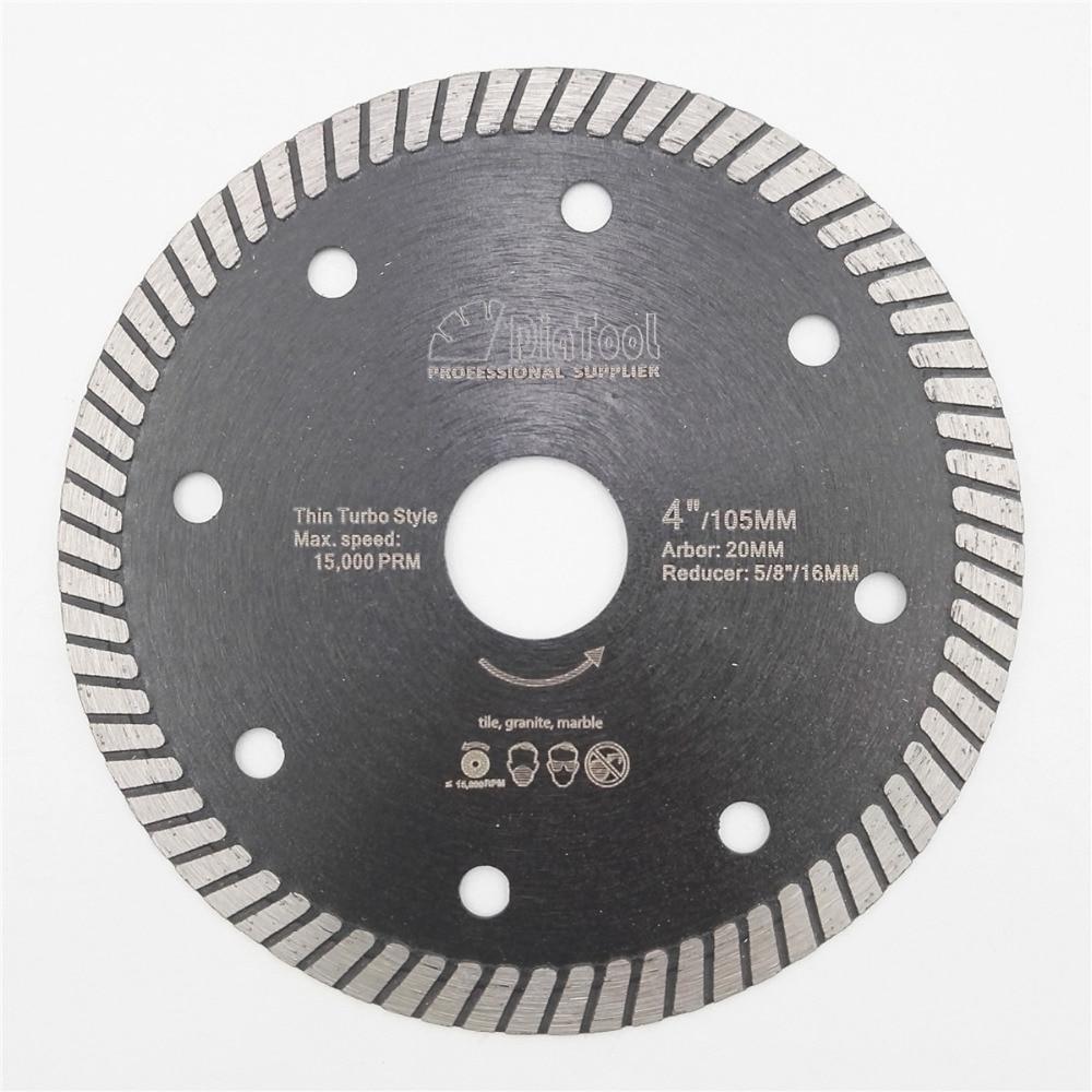 DIATOOL Diamond Hot Pressed Superthin Diamond Turbo Blade Ceramic Tile Granite Cutting Disc Diamond blade 4