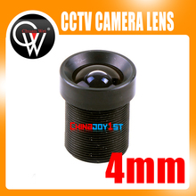 5PCS/LOT Board 4mm lens M12 Security Lens 78 Degree MTV Lens For CCTV Camera Free Shipping