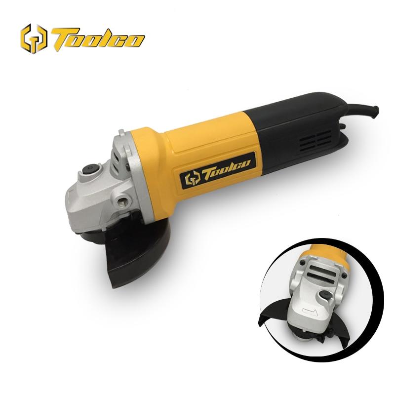 TOOLGO EU 220V 920W 100mm Handheld Electric Angle Grinder Grinding Machine For Metal Wood Polishing Cutting