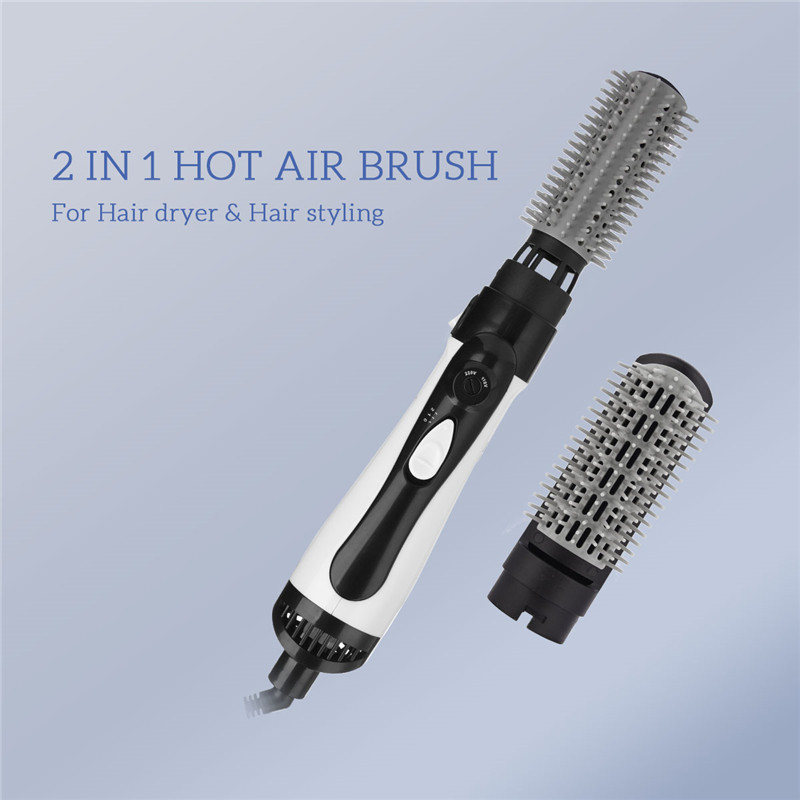 Multifunction Hot Air Styler Brush Electric Hair Dryer Blower Auto Rotating Hairdryer Comb Negative Ion Hair Curler Straightener