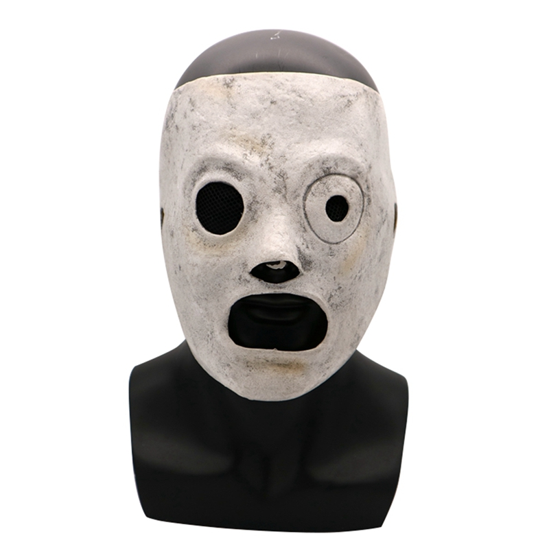 Movie Slipknot Corey Taylor Cosplay Latex Mask Adult Slipknot Full Head Mask Halloween Party Bar DJ Stars Costume Props