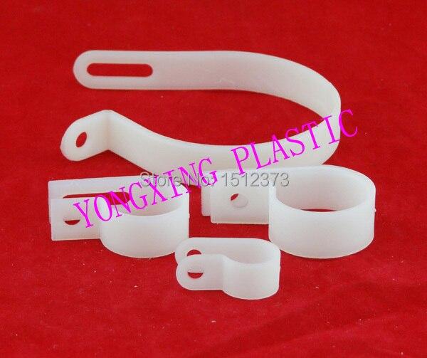 30 teile/los nylon kabelschellen R typ 3/4R 19mm fix draht anschluss ...