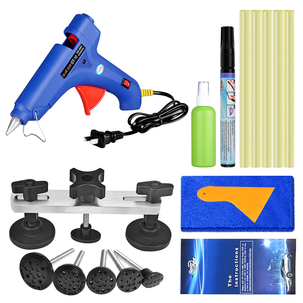 Super PDR Dent Pullers Dent Removal Tools Mini Guns Hot Melt Glue Gun For Adhesive Glue Sticks Paintless Dent Repair Tools Auto whdz pdr tools paintless dent repair tools dent removal dent puller pdr glue tabs glue gun hot melt glue sticks
