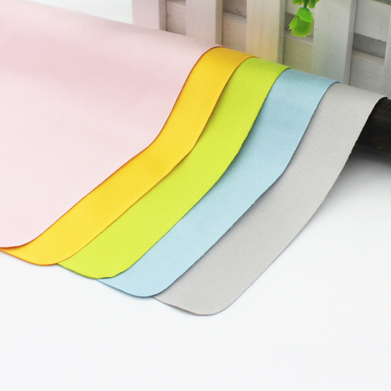 10 pcs Microfiber Screen Cleaner Soft Eyeglass Cleaning Cloth Chamois Glasses Cleaner Wipes For Lens Glasses Accessories 4 color