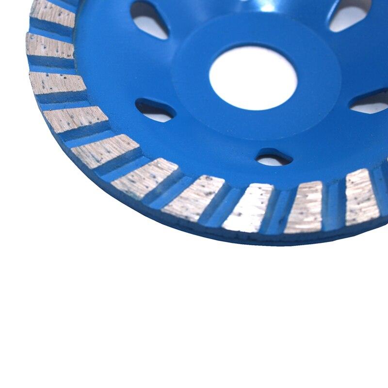 100 mm Rueda de molienda de copa turbo segmentada Forma de tazón de - Piezas para maquinas de carpinteria - foto 3