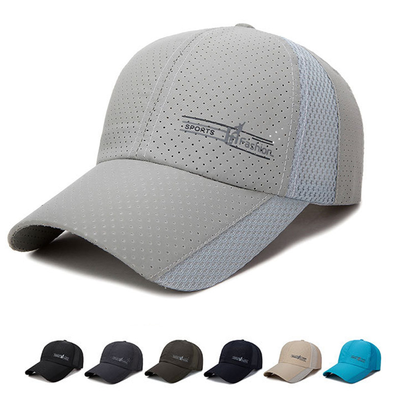 Quick Dry   Baseball     Caps   Fashion Spring Snapback Hat Summer Women Men   Baseball   Hat Breathable Dropshipping Wholesale   Cap