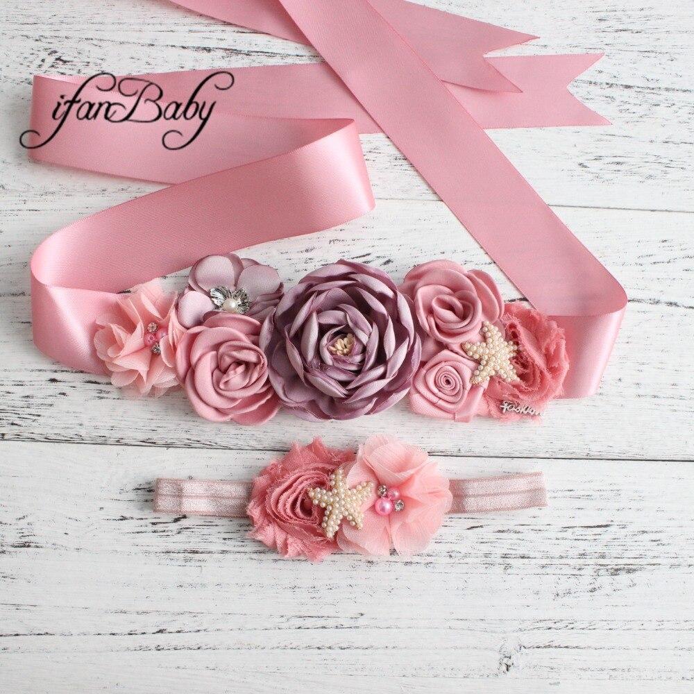 women belt flower sash belt (2)