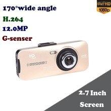 170 degree Wide Angle G-sensor G900 Car Camera Novatek Car Video Recorder FHD 1080P 2.7 inch TFT LCD Screen Car DVR