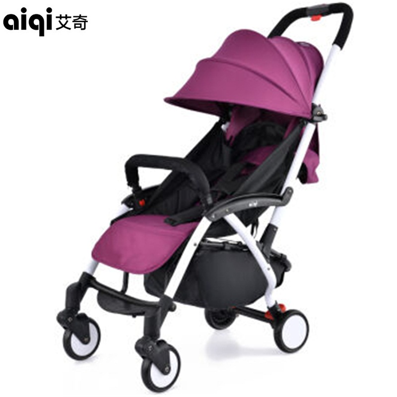 Baby Stroller Portable Folding Aluminum Alloy Travel Strollers Suspension Umbrella Carriage Pram Pushchair Direct Selling china pushchair high landscape folding baby stroller portable light weight baby carriage umbrella cart travel pram pushchair