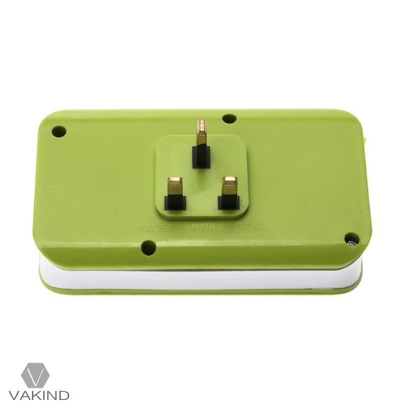 5V 10A Smart Electrical Socket 3 USB Ports Fast Quick Charging Hub Wall Charger Board Panel Power Strip UK Plug AC 110-250V