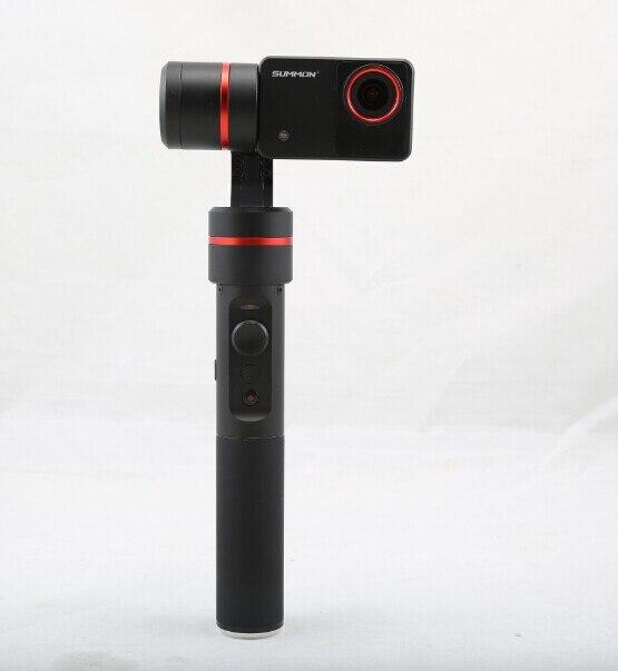 F18166 Feiyu upgraded Summon+ Summon Plus Handheld Gimbal Brushless Camera Stabilized with 4K 1080P Camera 2.0 Inch HD Display yuneec q500 typhoon quadcopter handheld cgo steadygrip gimbal black