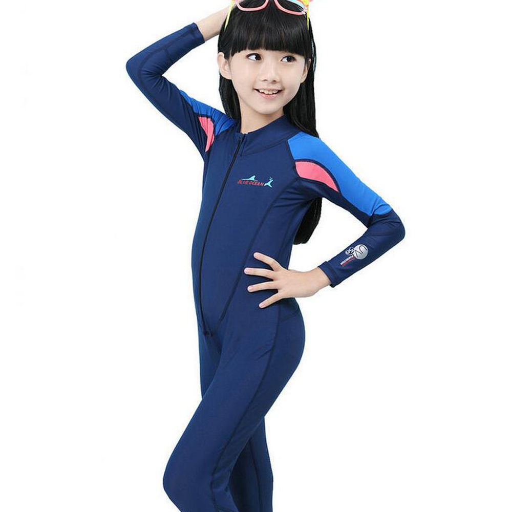 2aeeae8b2 Swimming Dress Kids Boys Girls Snorkeling Clothing Children's Sun  Protection Child Diving Suit Wetsuits-in Wetsuit from Sports &  Entertainment on ...