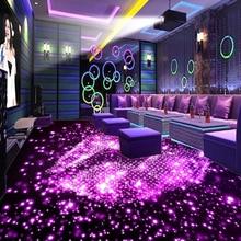 3D Floor Wallpaper 3D Stereo KTV Bar PVC Floor Murals