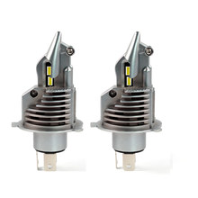 2 PCS MINI FORMATO H4 HB2 9003 35 W 5800LM CSP CHIP Fighter HA CONDOTTO il Faro All-in-one 1:1 DIMENSIONE Lampadine Auto Moto di Alta/Bassa del Fascio 6 K(China)