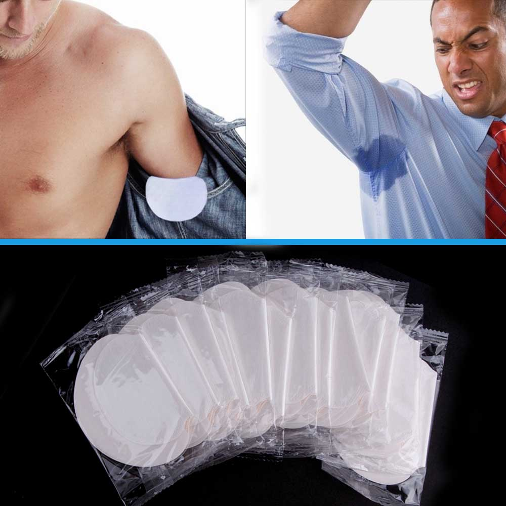 50/100/150/200pairs Underarm Pads Dress Clothing Armpit Care Sweat Scent Perspiration Shield Absorbing Deodorant Antiperspirant