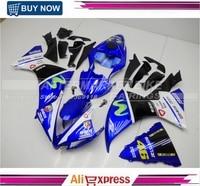 Fairings For Yamaha YZF1000 R1 2012 2013 2014 Sportbike ABS Motorcycle Fairing Kit Bodywork Cowling Motor