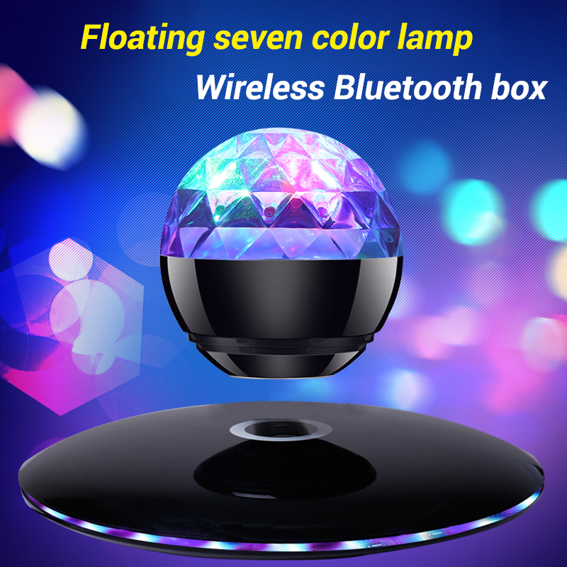 Wireless Bluetooth Speaker Bluetooth 4.0 Subwoofer Bass Maglev Speaker for Computer Phone PC Compatiable with IOS/Android System