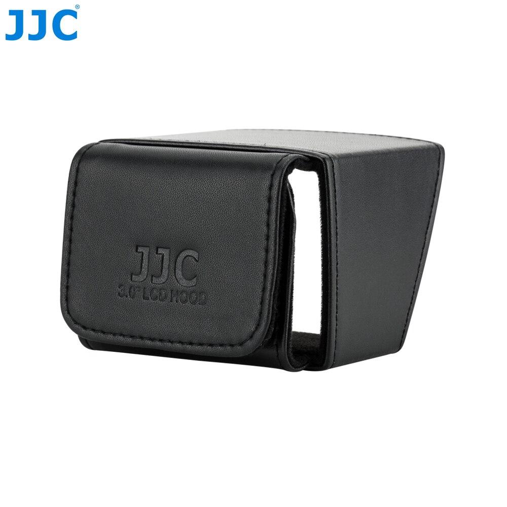 """JJC 3.0 """"osłona lcd składany ekran osłona przeciwsłoneczna DV kamera wideo dslr 5.1X7.4 cm osłona wyświetlacza Canon/Nikon/Sony/Fuji"""