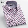 2017 новые мужские рубашки весна повседневная сетка плед рубашки для мужчины Высокого качества с длинным рукавом платье формальный рубашка человек Camisa Masculina