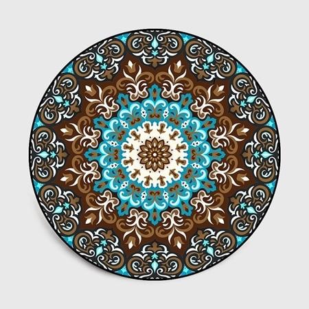 Mandala Round Carpet Mawgie