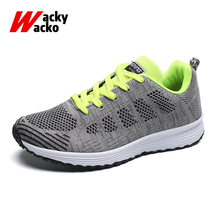 Womens Breathable Mesh Running Shoes Flat Sneakers Outdoor Sports Shoes Superlight Jogging Female Zapatillas Mujer Deportiva цена