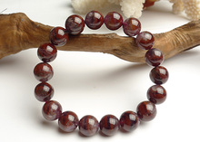 Newly Natural Auralite 23 Canada Round Beads Bracelet Crystal Red 11mm Women Men Reiki Stone Rarest Jewelry AAAAA