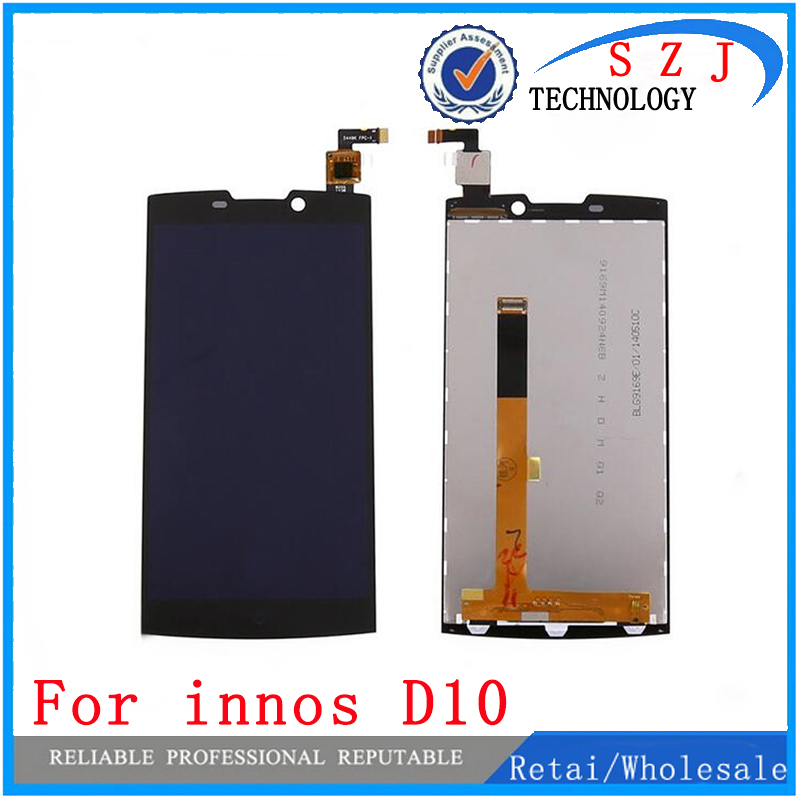 New case Highscreen Boost 2 SE 9267 LCD Display + Digitizer Touch Screen Replacement Glass For innos D10 D10CF Free shipping 6 lcd display screen for onyx boox albatros lcd display screen e book ebook reader replacement