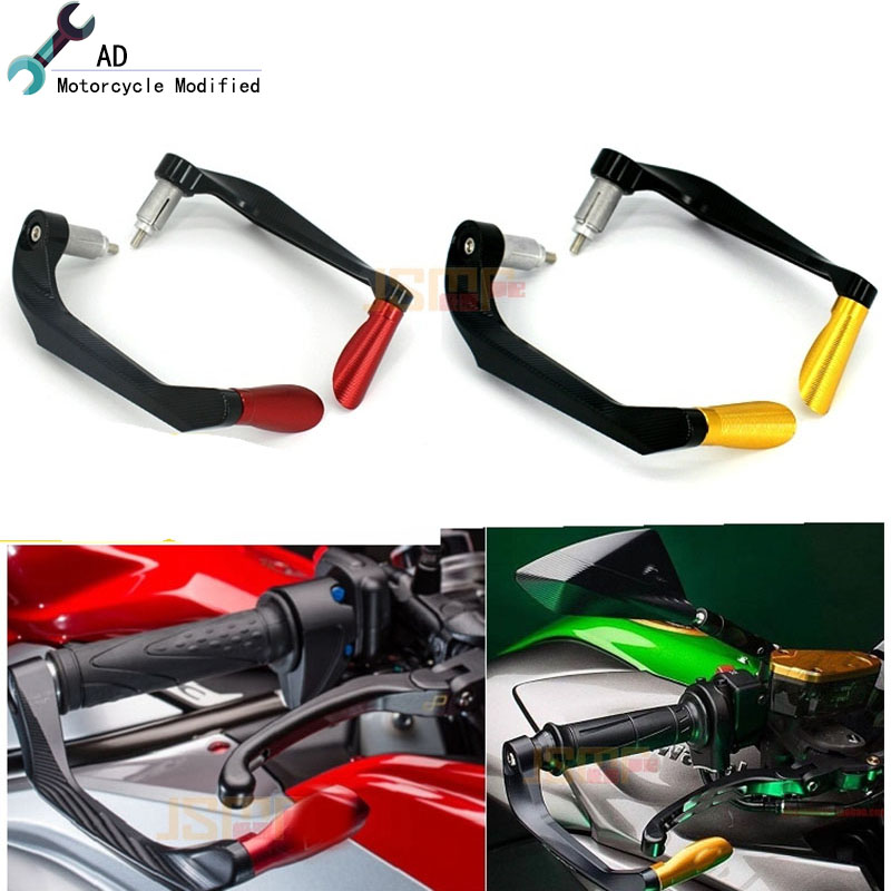 For Kawasaki ZX-6R ZX-10R 7/8 Motorcycle Hand Protector Motorbike Brake Clutch Levers Guards Falling Protection Accessories cnc brake clutch levers for kawasaki ninja zx 7r 96 03 zx 7 r zx 7r zx7r 1996 1997 1998 1999 zx750 extendable foldable lever