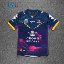 14307d17573 GIYU Recent NRL Melbourne Storms 2018 2019 purple home rugby shirts S-3XL  9-person