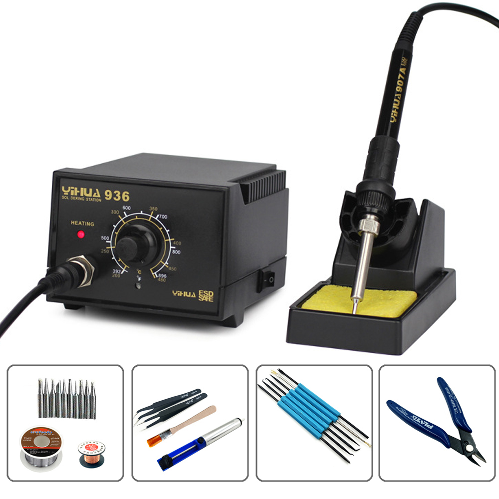 Yihua 936 110v  220v Anti Static Electric Welding Machine Lead Free Temperature Controlled