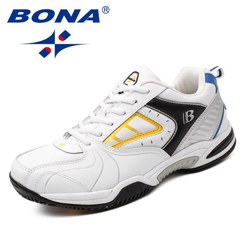 BONA nouveauté classiques Style hommes chaussures de Tennis à lacets hommes chaussures d'athlétisme en plein air chaussures de Jogging confortable livraison gratuite - 2