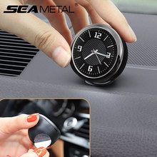 Luminous Car Clock Mini Digital Clocks Quartz Autos Decor Air Vent Clip Clock In The Car Watch Automobiles Interior Accessories