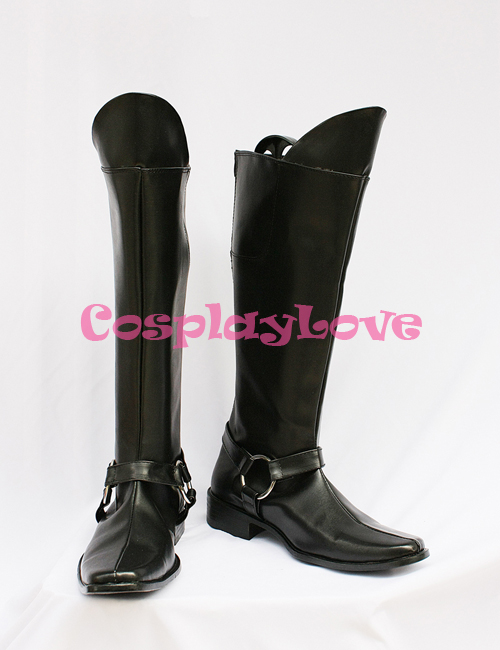 Hakuoki Harada Sanosuke Cosplay Shoes Boots Hand Made Custom-made For Halloween Christmas Festival CosplayLove