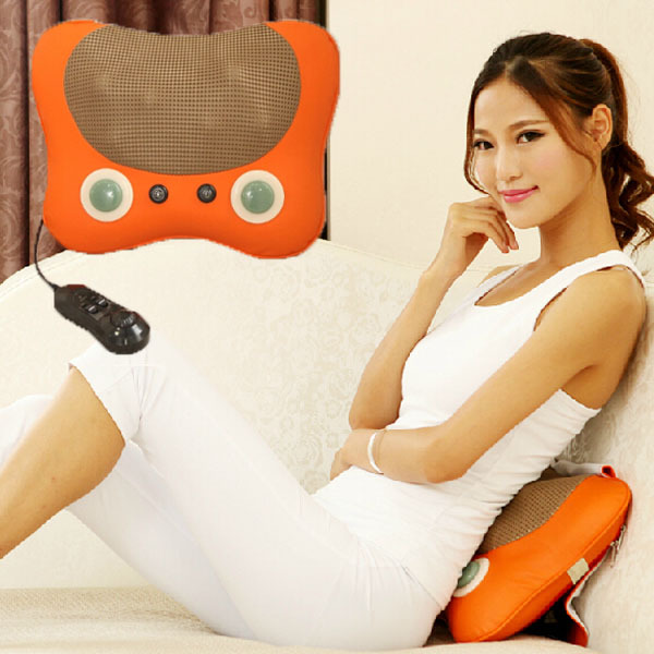 Hot Sale Neck and Back Roller /Shiatsu Massage Cushion Infrared Massage Cushion 2016