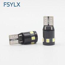 FSYLX T10 LED Clearance Side Marker W5W car led Lights For Mercedes Benz W211 W221 W220 W163 W164 W203 Motorcycles Car Lights