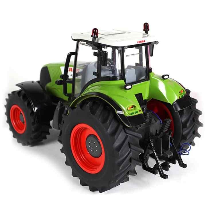 RC Truk Pertanian Traktor 2.4G Remote Control Trailer 1:16 Tinggi Simulasi RC Truk Kendaraan Konstruksi Mainan Anak Model Traktor