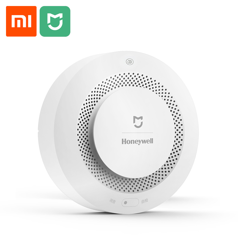 Xiaomi Fire Alarm Sensor Wireless Smoke Detector Home security Alarm system Smart Control by Mijia app free shipping wireless smoke detector fire alarm sensor work with g90b plug wifi smart home alarm system