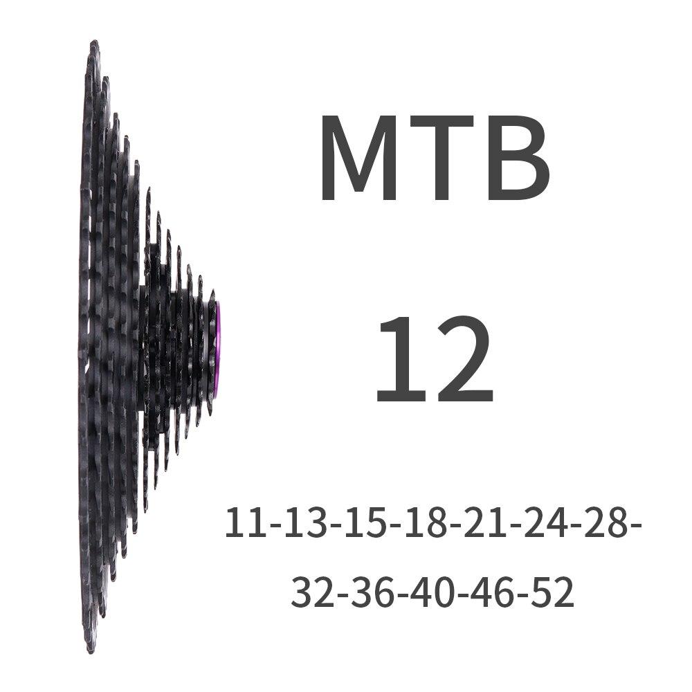 2018 Новый MTB 12 Скорость 12 s 11-52 т SLR кассета blackWide соотношение Сверхлегкий ЧПУ велосипед выбеге Mountain для SRAM HG центром тела DH
