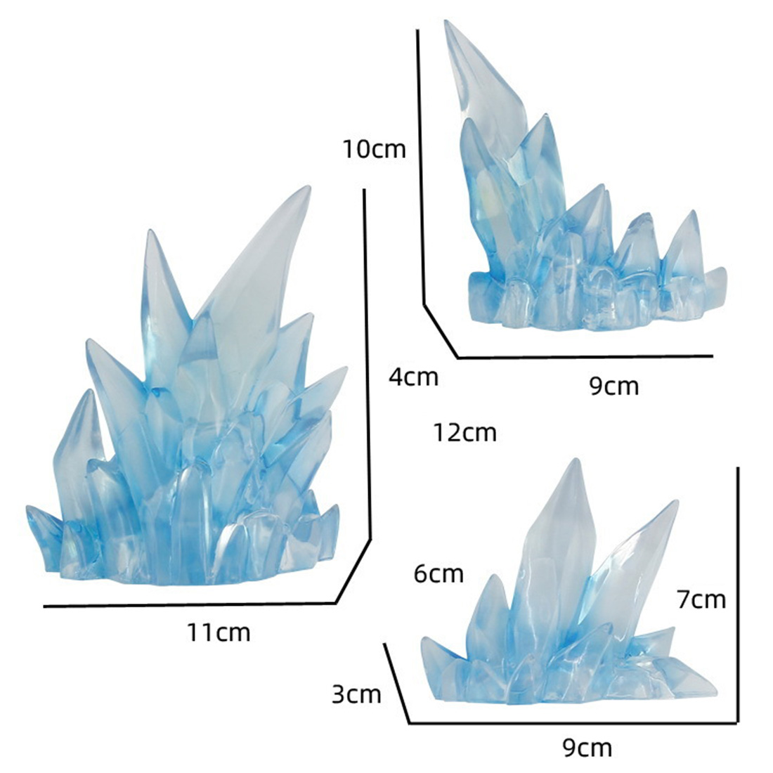 Image 4 - 2019 New Arrival Ice Effect Model Ice Effect Decoration for General Scale Model   Purple  Action & Toy FigureAction & Toy Figures   -