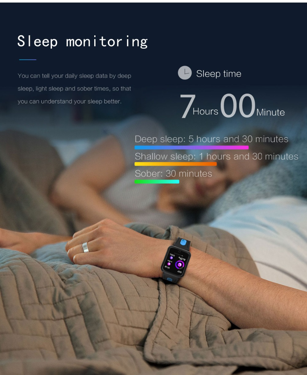 Smart Watch P68 Sports IP68 fitness bracelet activity tracker heart rate monitor blood pressure for ios Android apple iPhone 6 7 14