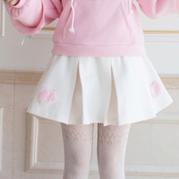 Princess sweet lolita skirts Hairy skirt in autumn and winter Candy rain slim all match pleated skirt of the wind C22CD7290
