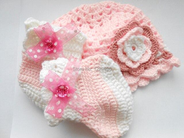 Baby Mädchen Hut Und Set Rosa Häkeln Mädchen Hut Und Ballerina